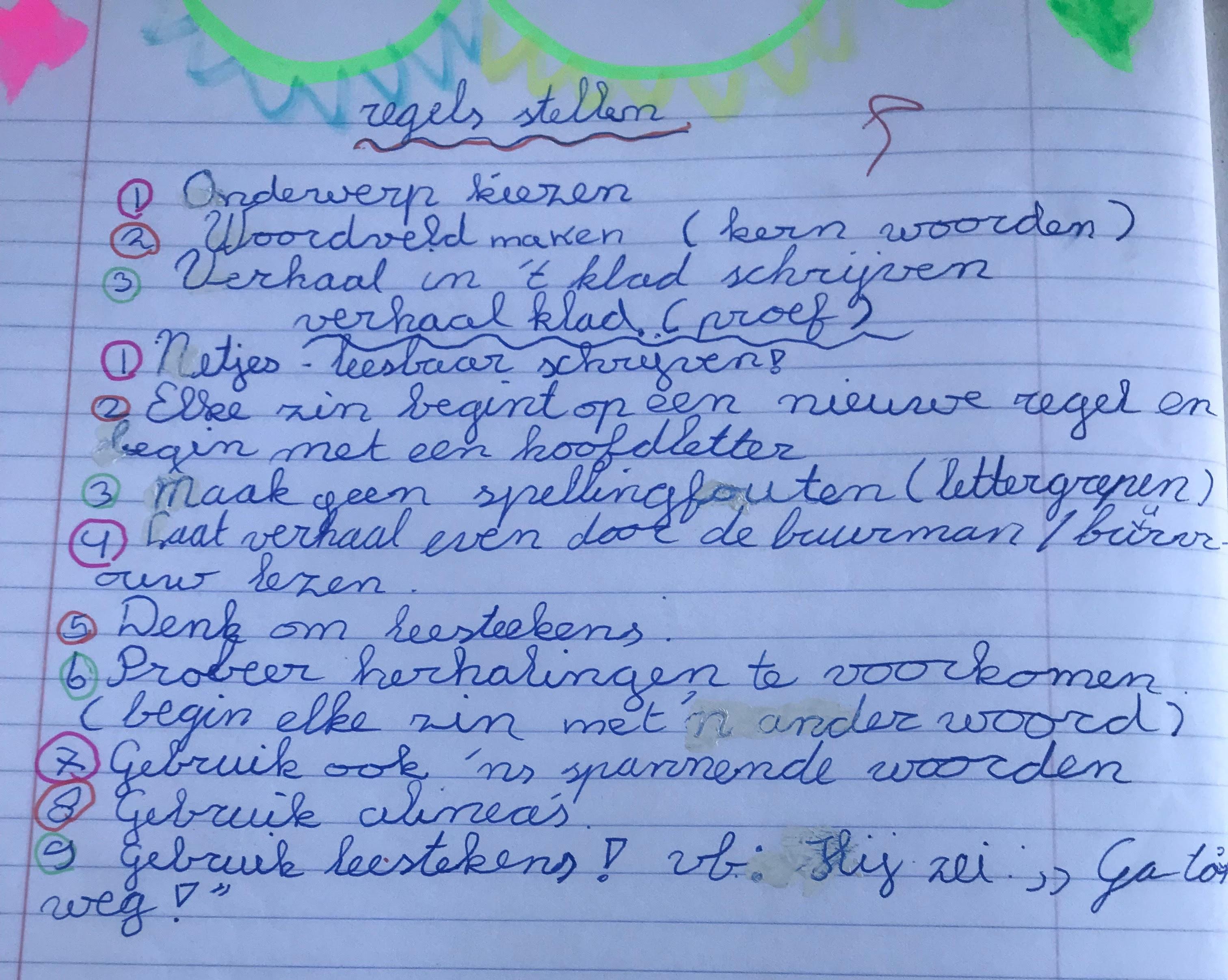 Regels stellen Sonja basisschool